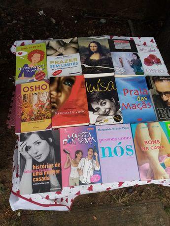 Vários livros em bom estado para desocupar excelente  preço