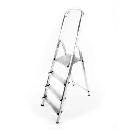 Лестница стремянка 4 ступени алюминиевая Драбина на 4 сходинки ПОЛЬША