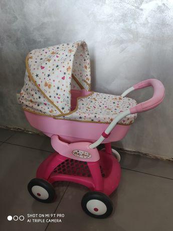Детская коляска Smoby с куклой оригинал