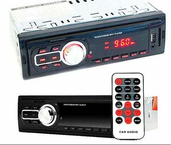 Radio Samochodowe MP3 FM SD USB AUX MMC ISO Pilot
