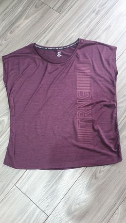 Koszulka treningowa H&M sport r M idealna