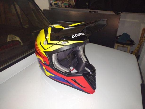 Шлем мотокросс эндуро