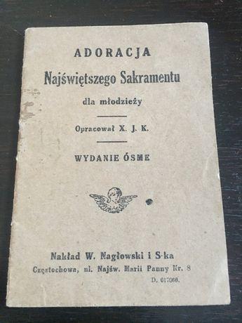 Kantyczka modlitewnik stara książka śpiewnik pastorałka zabytek antyk
