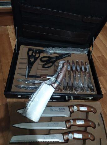 Набор ножей и вилок в чемодане Kochtopfhaus Muller Germany+подарок