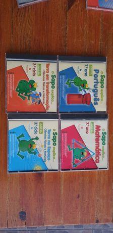 CDs educativos 5€cada conjunto