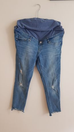Spodnie jeansy ciążowe H&M