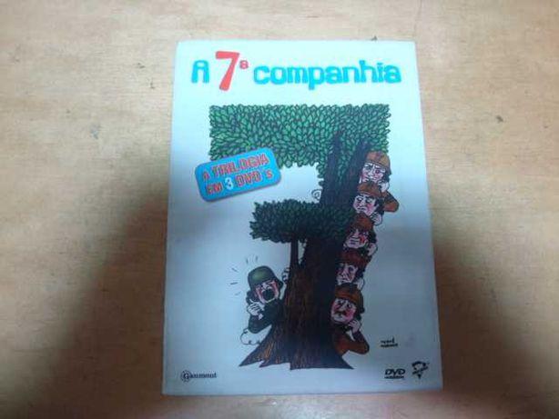box trilogia a 7 companhia raro