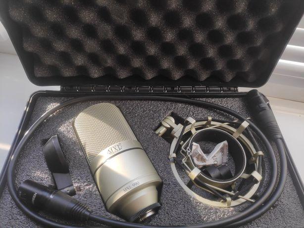 Микрофон Marshall MXL 990 с пауком + кабель XLR UGREEN 1м