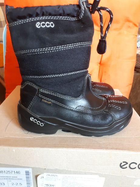 Ботинки зимние ECCO (с мембраной GORE-TEX) 31 размер