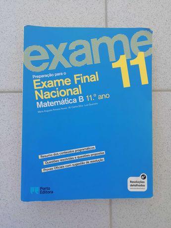 Livro de preparação para exame 11º ano- Matemática B