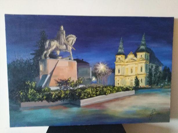 Картина маслом. Катедра. Тернопіль