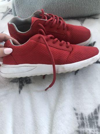 Czerwone lekkie buty chłopiec rozmiar 34