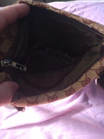 Torebka Gucci używana podróbka ale wygląda jak oryginalna