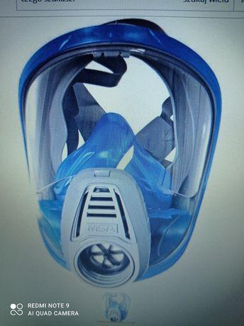 Maska pełnotwarzowa msa plus 3 filtry