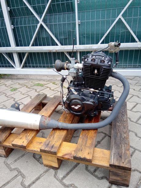 Nowy kompletny silnik 125cm3 4t Cbf lexmoto zsb cg f VAT moc 11,5KM