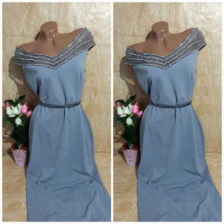Платье в пол, довге плаття, сукня