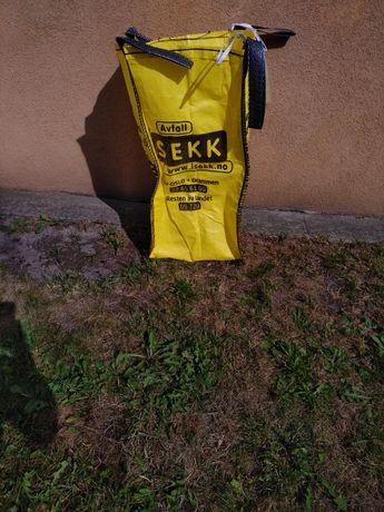 Worek mały - big bag na gruz, odpady, drewno, smieci