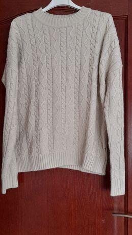 S 36 sinsay sweter beżowy wrkocze