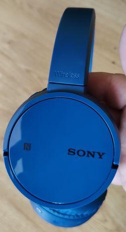 Sony MDR-ZX220BT Bluetooth NFC Bezprzewodowe słuchawki prawie jak nowe