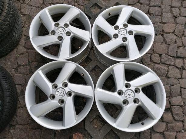 """Oryginalne alufelgi MAZDA 16"""" 5x114,3x67 Mazda 6 Mazda 5 Mazda 3 MX-5"""