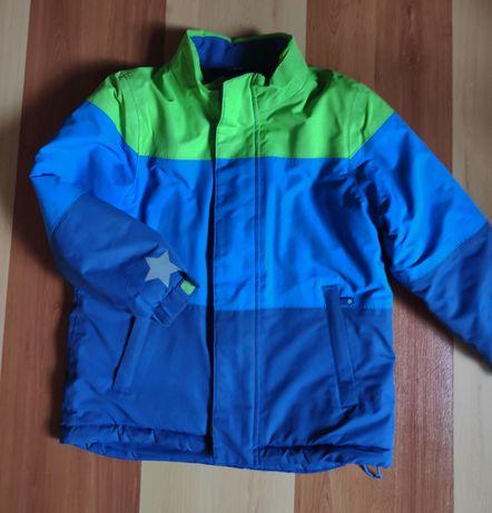 Теплая детская куртка на флисе. Осень/ весна.