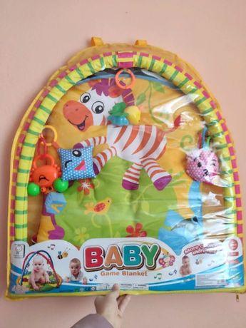 Продам новий розвиваючий коврик baby game blanket
