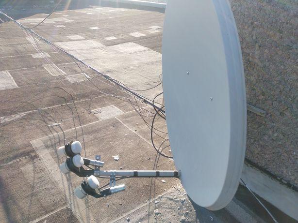 Установка, Настройка, спутниковой антенны/ тарелки.