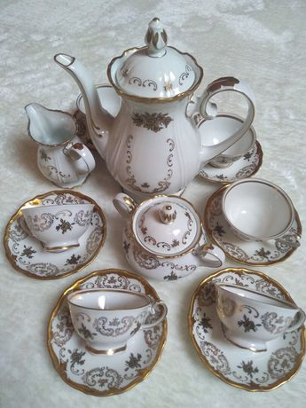 Porcelana Reichenbach serwis kawowy