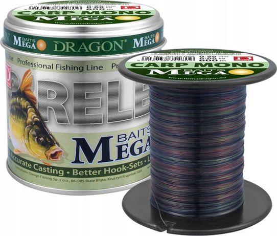 Żyłka Dragon MegaBaits Carp Mono 600m 0.20mm