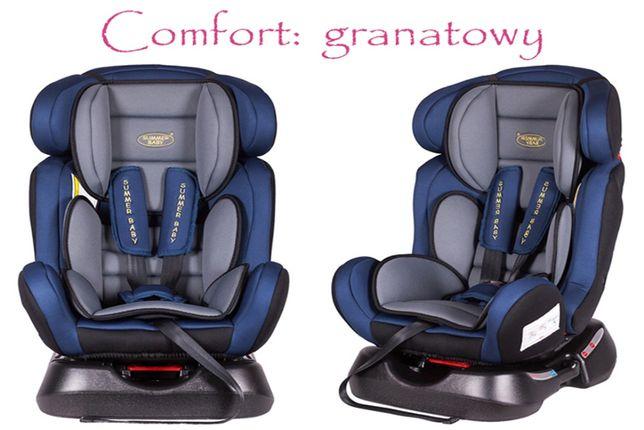 Samochodowy Fotelik Dziecięcy Model: Comfort 0-25 kg z funkcją spania