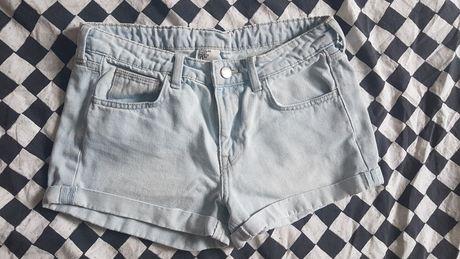 Szorty jeansowe, spodenki h&m
