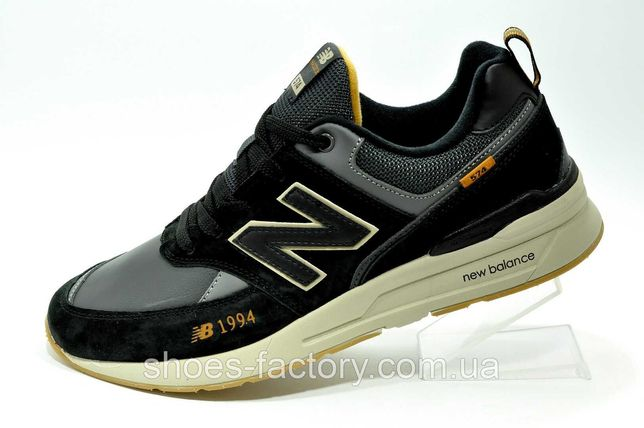 Мужские кроссовки New Balance 574 sport 1994 Черные