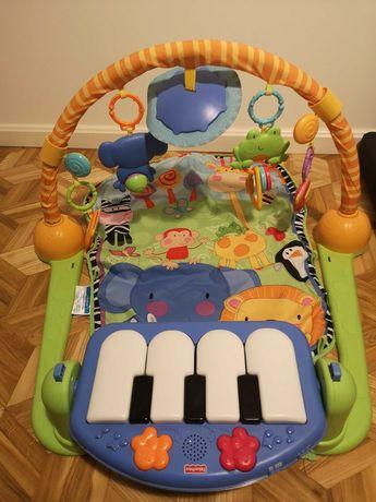 Mata Fisher Price z pianinem