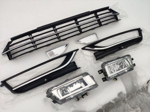 Противотуманки полный комплект VW Passat B7 B8 2011-17 USA