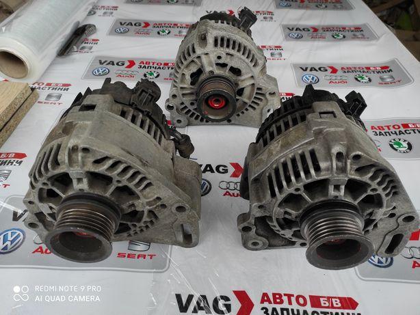 Генератор Bosch,Valeo б/у оригинал VAG VW Пассат Б4,Гольф 3,Поло,Сеат