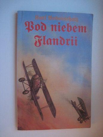 """Książka """"Pod niebem Flandrii"""" Bodenschatz, Czerwony Baron, samolot"""
