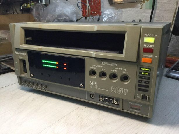 Hi-Fi Audio Recorder 20-20.000 студийный, на базе Panasonic AG-6850H-E