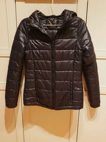 Kurtka puchowa , puchówka czarna kurta , przejściowa kurta