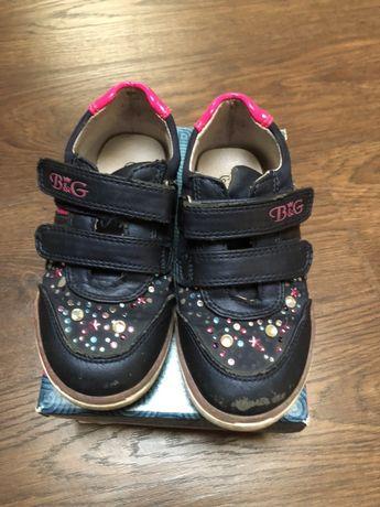 Шкіряне взуття для дівчинки