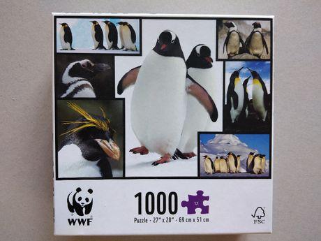 Puzzle WWF Pingwiny 1000