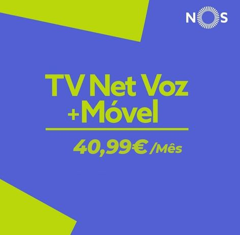 Tv Net Voz Nos fibra
