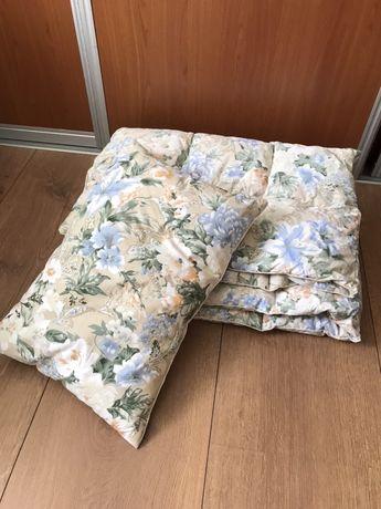 Детское пуховое одеяло и подушка