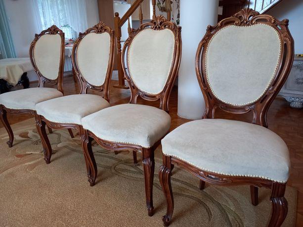 4 krzesła drewniane