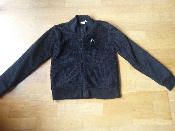 Bluza futerko czarna