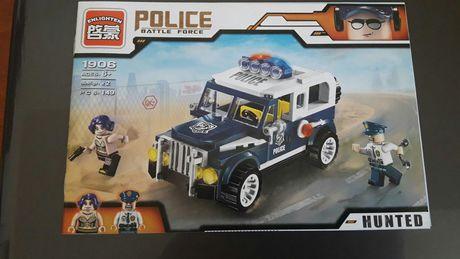 Конструктор Лего полицейская машина