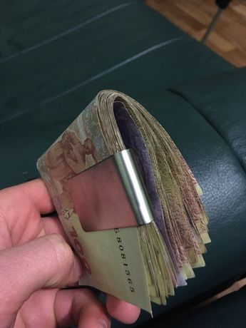 Держатель денег (скобка).