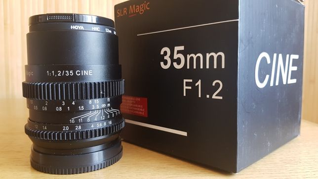 Объектив SLR Magic Cine 35mm f/1.2 for Sony E-Mount