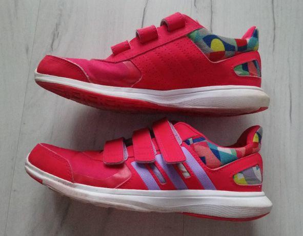 Piękne damskie buty sportowe Adidas 35 rzepy 21,5 cm