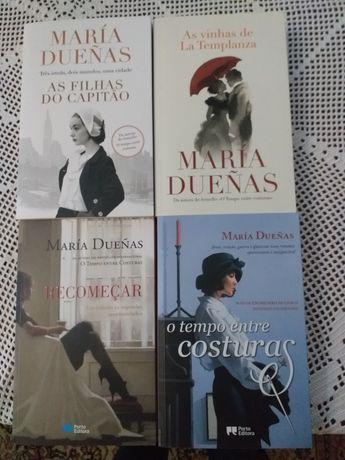 Vendo livros da Maria Duenas