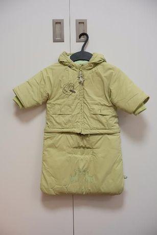 Kombinezon zimowy niemowlęcy, rozmiar 62-68